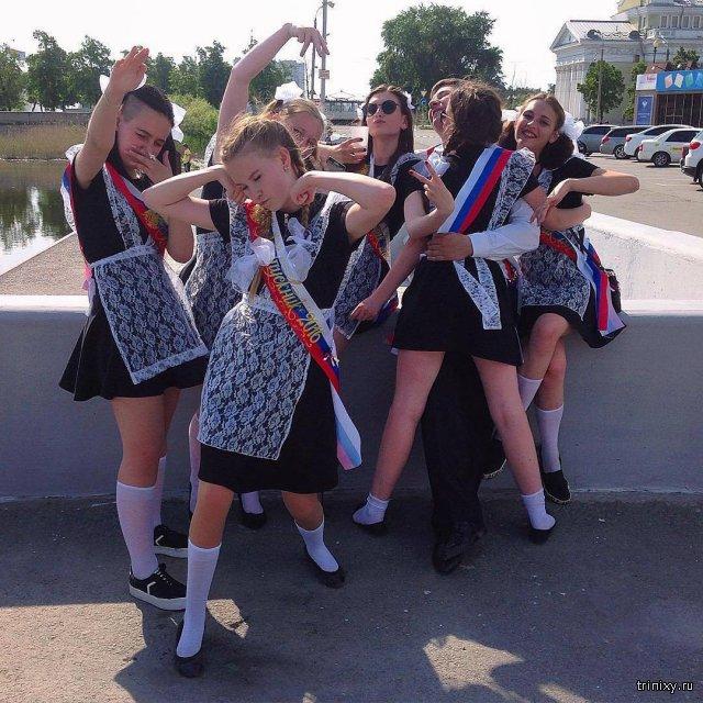 Последние звонки в городах России