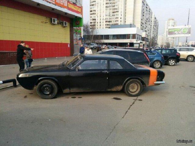 Классический американский масл-кар на базе ГАЗ-24
