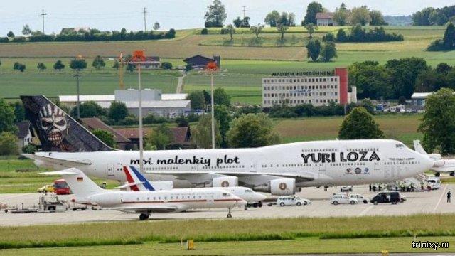 Самолеты Меркель, Олланда и Iron Maiden