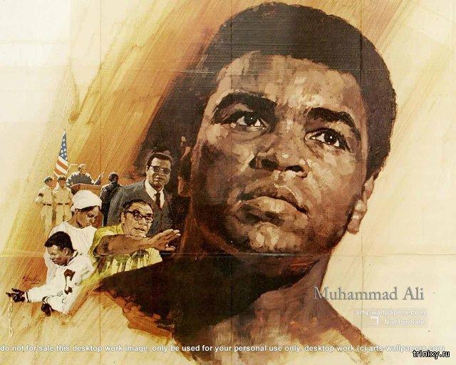 На 75-ом году жизни скончался Мохаммед Али