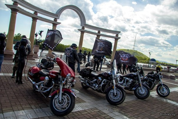 Биробиджан собрал байкеров ДВ