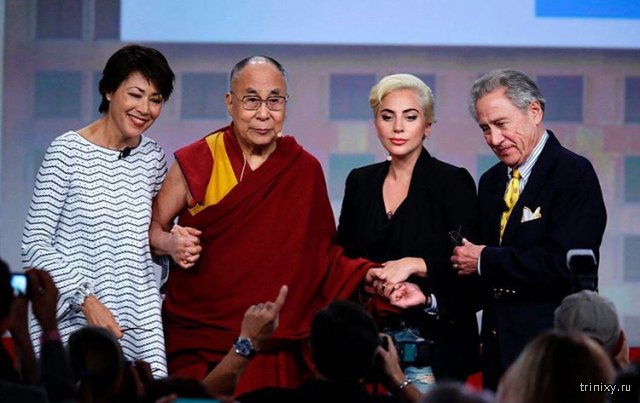 После встречи с Далай-ламой Леди Гага стала персоной нон грата в Китае