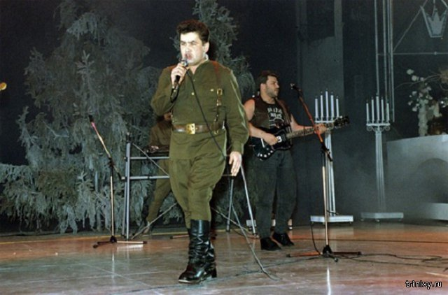 Российские звезды в 90-е