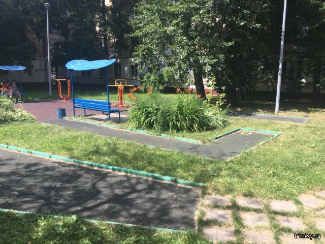 Площадка для мини-гольфа по-русски