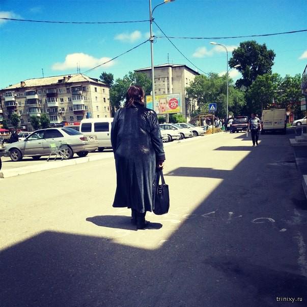 Суровый июль в Биробиджане