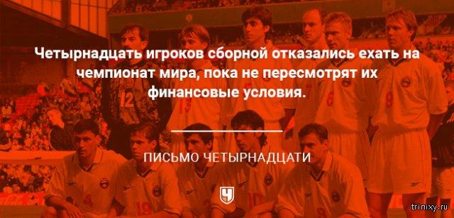 7 самых резонансных скандалов в истории сборной России по футболу
