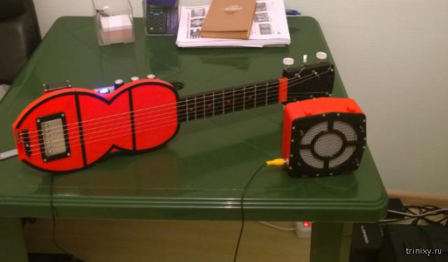Гитара на 3D принтере