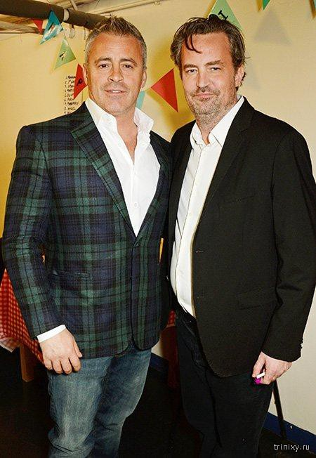46-летний Мэттью Перри, известный по сериалу «Друзья», шокировал внешним видом