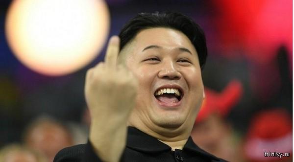 На Олимпийских играх в Бразилии нашли двойника Ким Чен Ына