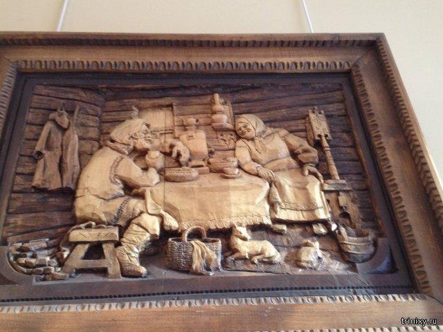 Работы из музея умельца Кронида Александровича Гоголева в Сортавале