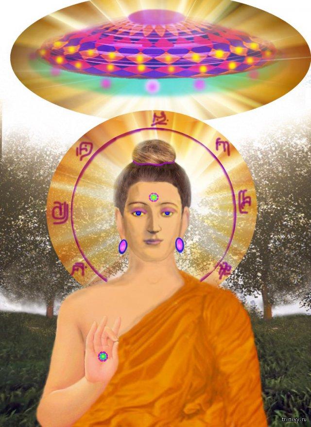 Инопланетяне в религиях и религии (буддизме, индуизме) - это Боги. НЛО в священных писаниях.