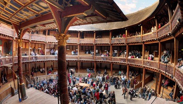 Театр в средневековом стиле