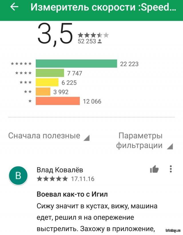 Комменты к Android-приложению