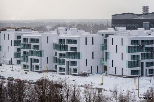 Необычное жилье в Сколково