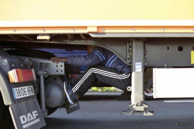 Как прячутся нелегальные мигранты