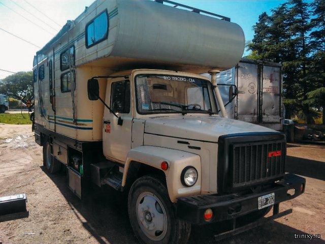 ГАЗ-3309 в качестве дома на колесах