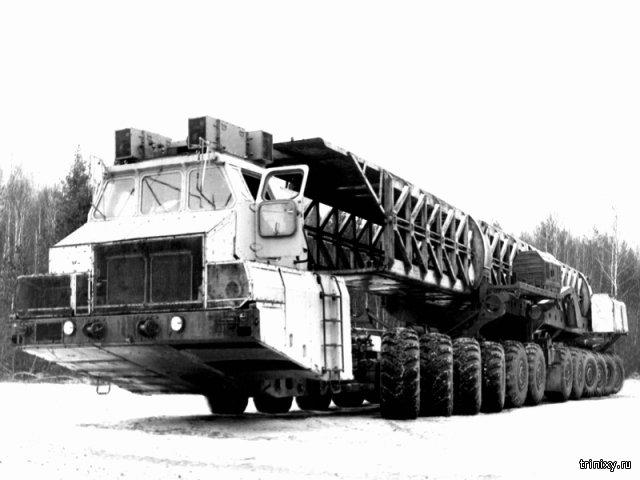 МАЗ-7907. Таких больше не будет