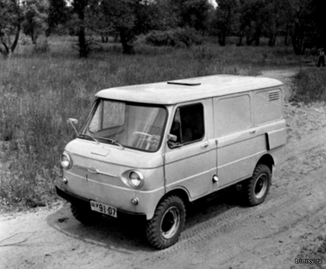 ЗАЗ-970: грузовой «Запорожец»