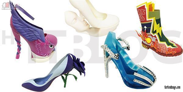 Дизайнеры из Гонконга представили коллекцию обуви, напечатанную принтером Stratasys J50