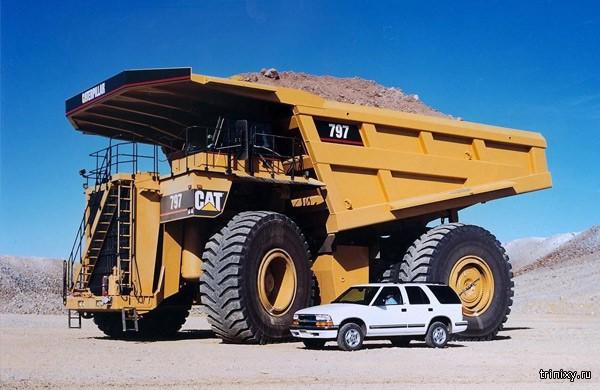 Гиганты среди грузовиков