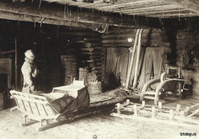 Люди и быт на севере России 1906 года