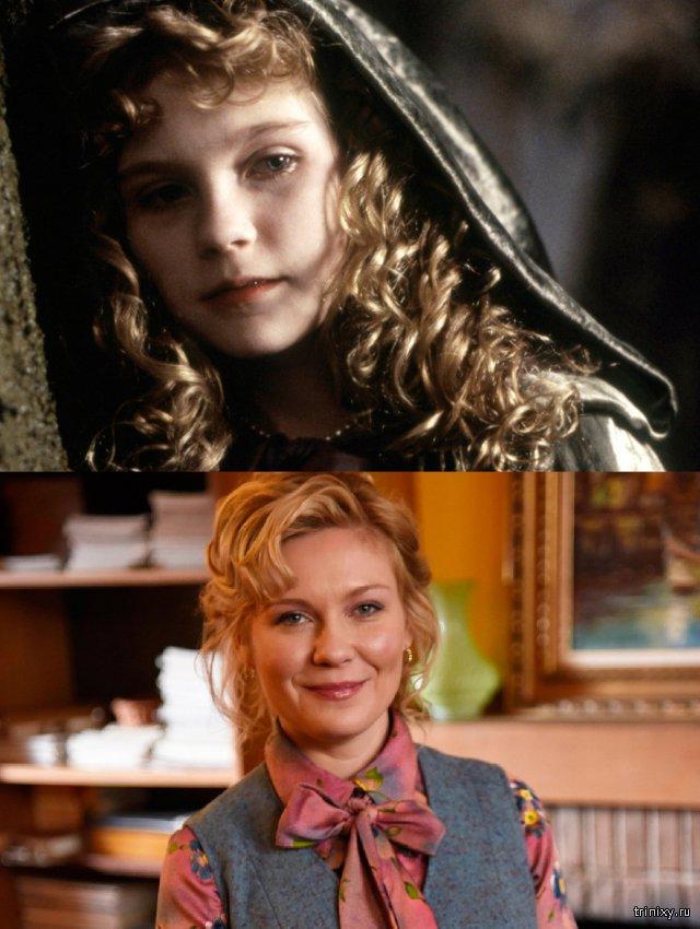 Известные актрисы в начале своей карьеры и сейчас