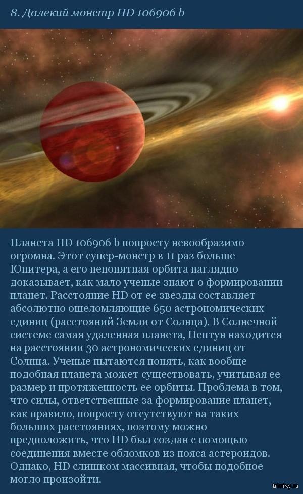 10 космических открытий, которые наука пока не может объяснить