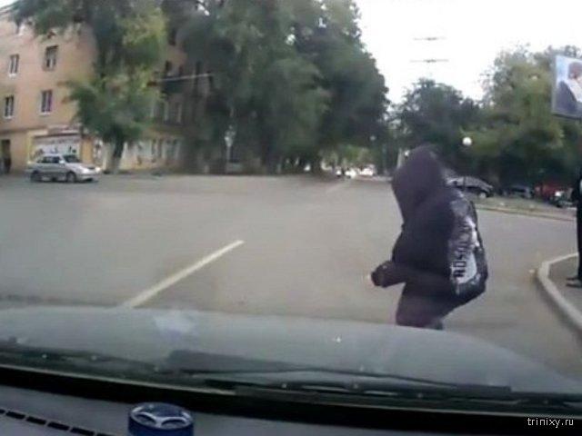 Об опасностях пешеходных \