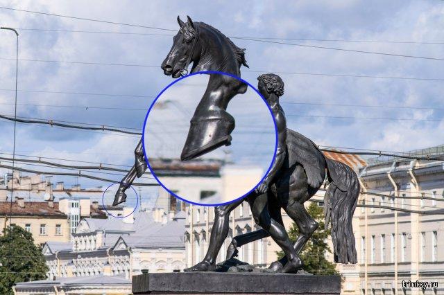 Скрытый смысл лошадей Аничкова моста