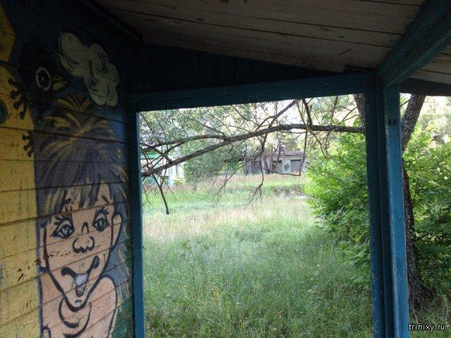 Заброшенный детский лагерь Буревестник