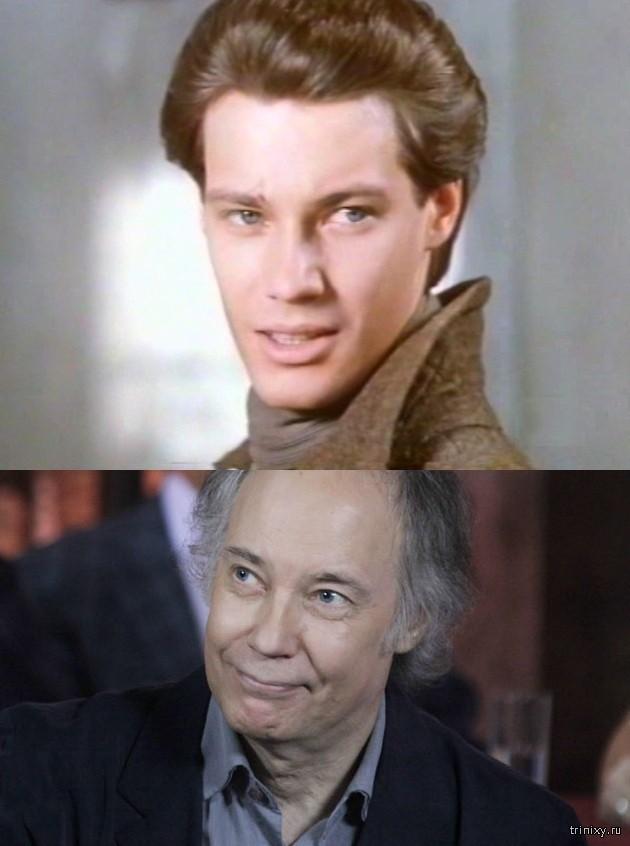 Российские актеры в начале своей карьеры и сейчас. Часть 2