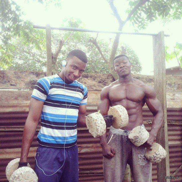Вот так качаются в Африке!!!