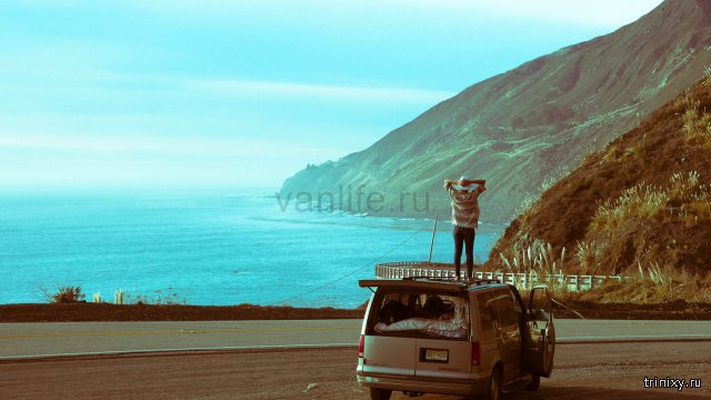 Путешествие – жизнь, или превращение фургона Chevy van в уютный домик на колёсах