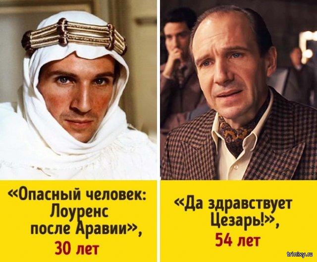 Как изменились всемирно известные актеры