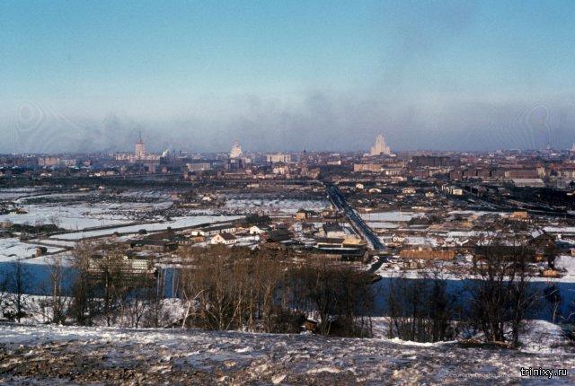 Фото Москвы 1952-1954 годов, сделанные американским шпионом