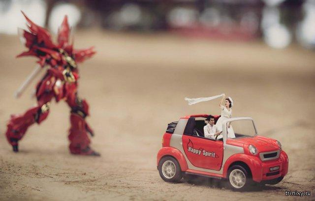 Лучшие идеи для свадьбы: снимки жениха и невесты в миниатюре