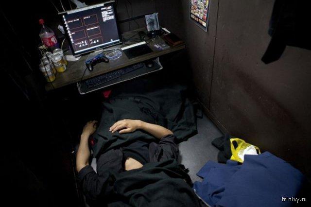 Японские интернет-кафе вместо съемной квартиры