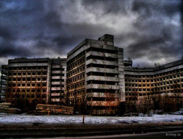 Заброшенные места и строения
