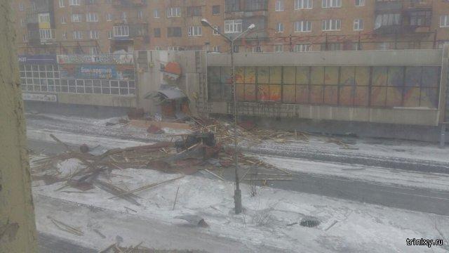 Суровые зимы в Норильске