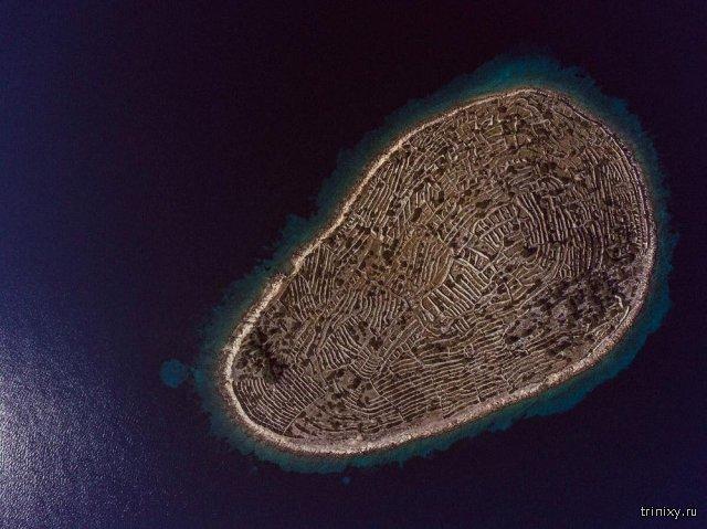 Почему остров Бальенак похож на отпечаток пальца