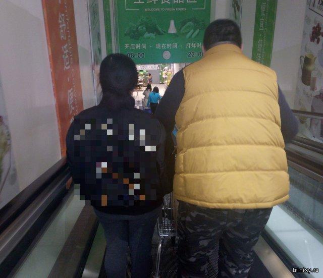 Тем временем в супермаркете в Китае