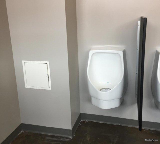 Туалет только для персонала?