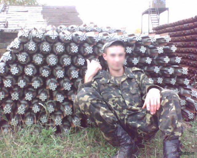 Пожар на складе боеприпасов в городе Балаклея в Харьковской области