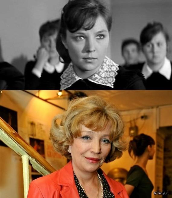 Российские актрисы в начале своей карьеры и в последних фильмах. Часть 2