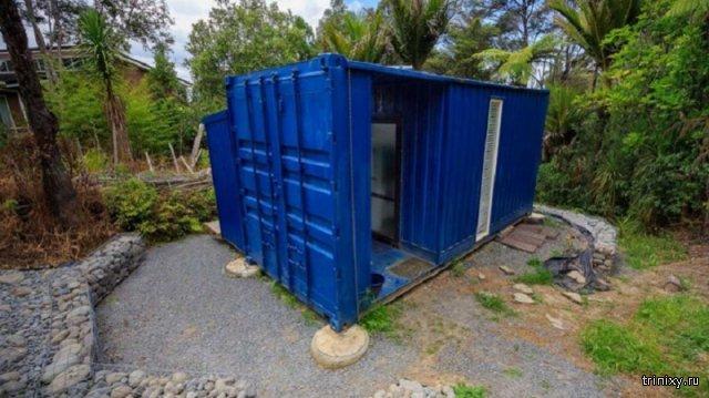 Жилище в морском контейнере с площадью в 10 кв.м.
