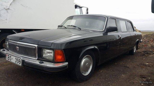 Авто премиум-класса для чиновников - РАФ-ГАЗ-3102