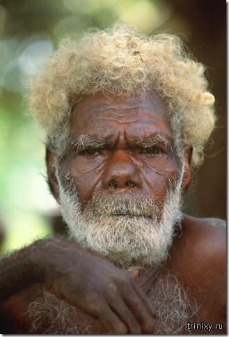 Чернокожие блондины родом из Меланезии
