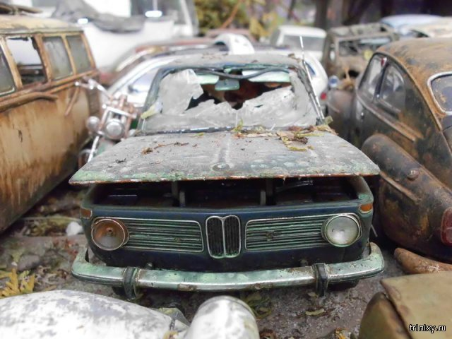 Состаренные модели автомобилей
