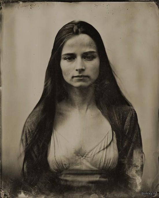 Женская красота из прошлого