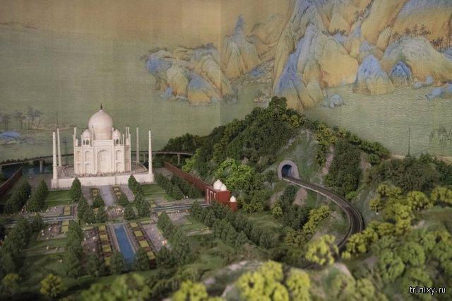 Миниатюры городов мира в одной мегавыставке